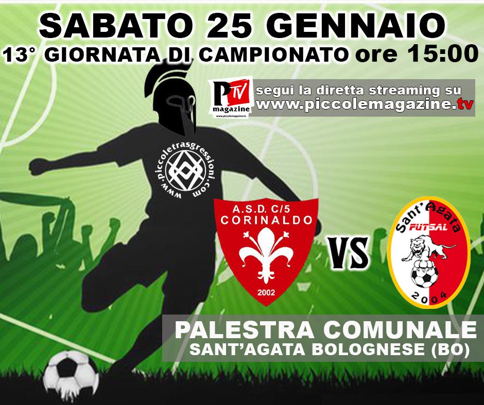 Partita Sant'Agata Futsal 2004 vs Corinaldo