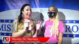 Intervista a Marika De Martino concorrente Miss Trans Europa 2021