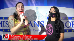 Intervista a Martina Schiavo concorrente Miss Trans Europa 2021