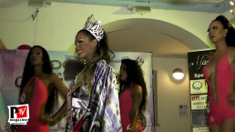 Miss Barbie Europa Tx 2018 sfilata in costume isola di Ponza