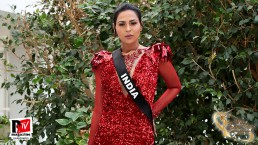 Intervista a Namitha Marimuthu , Miss India al Miss Trans Star International 2019