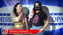 Intervista a Morena Casanova concorrente Miss Trans Europa 2021