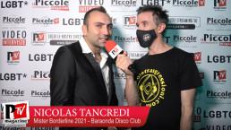 Intervista a Nicolas Tancredi al Mister Borderline 2021