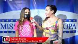 Intervista a Nicole Roselli concorrente Miss Trans Europa 2021
