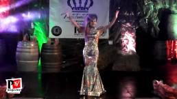 Esibizione di Nikita Magno al Miss Trans Toscana 2018