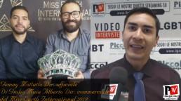 Entrevista con los organizadores del concurso Miss Heart International 2019