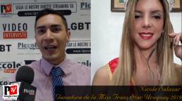 Intervista a Nicole Salazar Vincitrice di Miss Trans Star Uruguay 2019