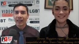 Entrevista con Bruna Ruggiero, representante de Montevideo en el Miss Trans Star Uruguay 2019
