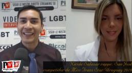 Entrevista con Nicole Salazar, representante de San José en el Miss Trans Star Uruguay 2019