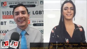 Entrevista con Domenika Torres, representante de Perù en el Miss Earth International 2019