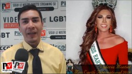 Entrevista con Valeria Montiel, Miss Earth International 2018