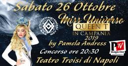 Miss Universo Queen T in Campania 2019