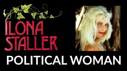 political woman copertina
