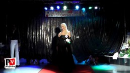 Sfilato in Abito da sera al miss trav company 2018