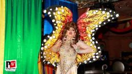 Spettacolo di Sebille Garcia durante la serata Isterika