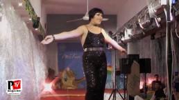 Spettacolo di Christine La Croix al Miss Trans Estate 2018