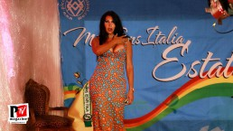 Spettacolo Marcia Porto al Miss Trans Estate 2018