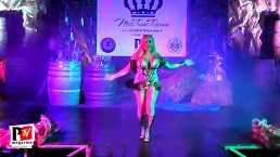 Esibizione di Taissa Oliveira al Miss Trans Toscana 2018