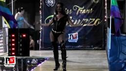 Veronika Havenna si esibisce al Miss Trans Abruzzo 2018