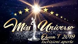 Miss Universo Queen T in Campania 2019: sono aperte le iscrizioni!
