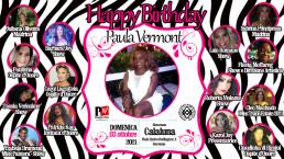 Happy Birthday Paula Vermont - 03.10.2021 - video invito